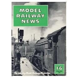 Model Railway News 1957 February