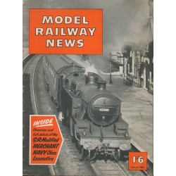 Model Railway News 1956 July