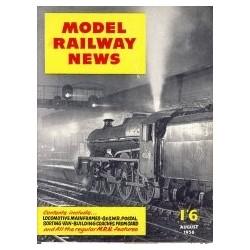 Model Railway News 1956 August
