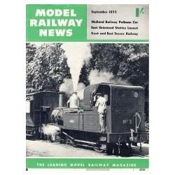 Model Railway News 1955 September