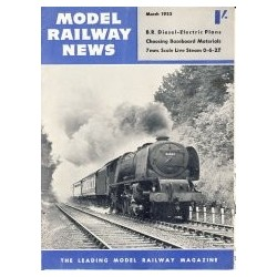 Model Railway News 1955 March