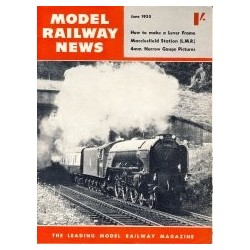 Model Railway News 1955 June