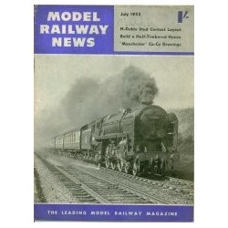 Model Railway News 1955 July