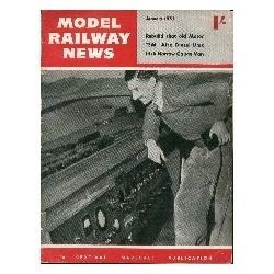 Model Railway News 1955 January