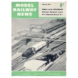Model Railway News 1955 February