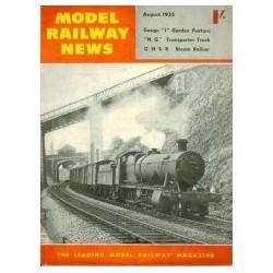 Model Railway News 1955 August