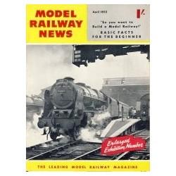 Model Railway News 1955 April