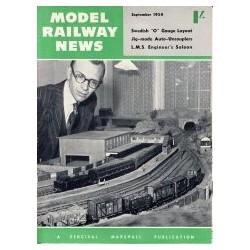 Model Railway News 1954 September
