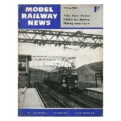 Model Railway News 1954 October