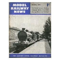 Model Railway News 1954 November