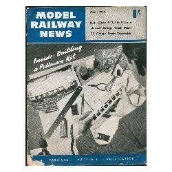 Model Railway News 1954 March