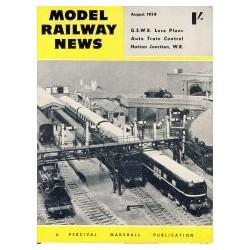 Model Railway News 1954 August