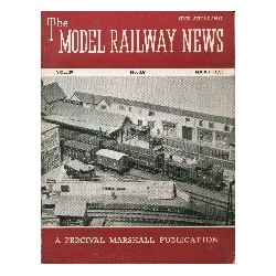 Model Railway News 1953 March