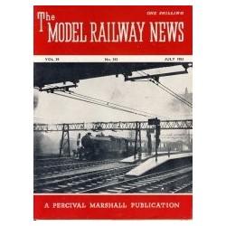 Model Railway News 1953 July