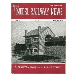 Model Railway News 1953 January