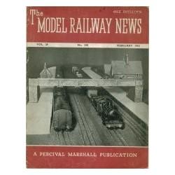 Model Railway News 1953 February
