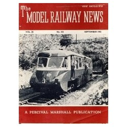 Model Railway News 1952 September