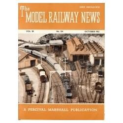 Model Railway News 1952 October