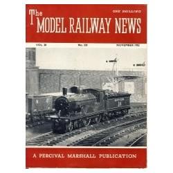 Model Railway News 1952 November