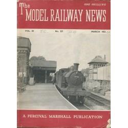 Model Railway News 1952 March