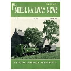 Model Railway News 1952 June