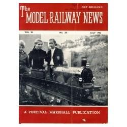 Model Railway News 1952 July