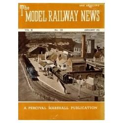 Model Railway News 1952 January