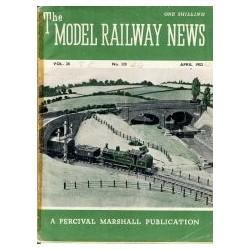 Model Railway News 1952 April