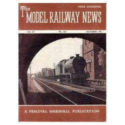 Model Railway News 1951 October