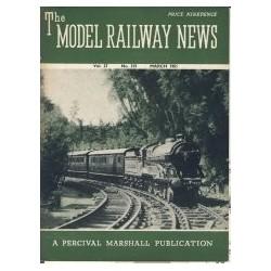 Model Railway News 1951 March