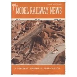 Model Railway News 1951 June