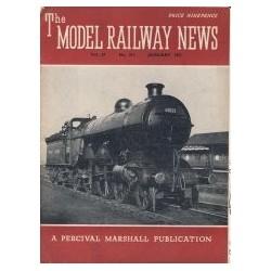 Model Railway News 1951 January