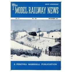 Model Railway News 1951 December