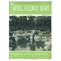 Model Railway News 1951 August