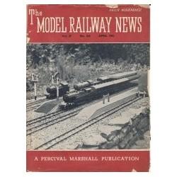 Model Railway News 1951 April