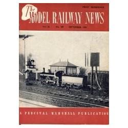 Model Railway News 1950 September
