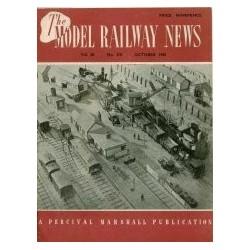 Model Railway News 1950 October