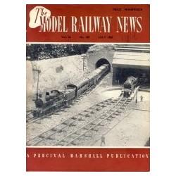 Model Railway News 1950 July