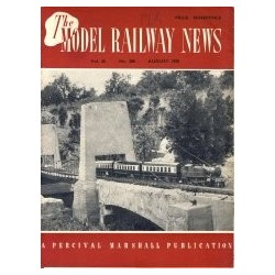 Model Railway News 1950 August