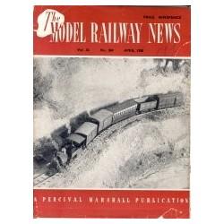 Model Railway News 1950 April
