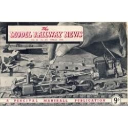 Model Railway News 1949 March