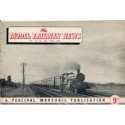 Model Railway News 1948 April