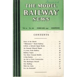 Model Railway News 1947 February