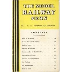 Model Railway News 1946 September