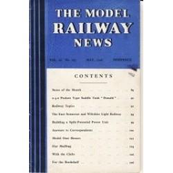 Model Railway News 1946 May