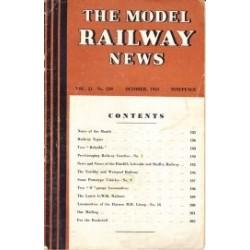 Model Railway News 1945 October