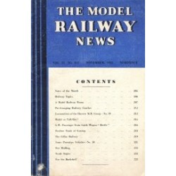 Model Railway News 1945 November