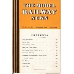 Model Railway News 1945 December
