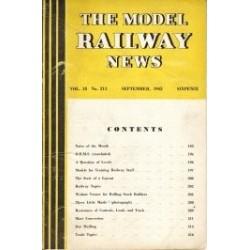 Model Railway News 1942 September