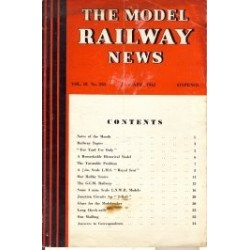 Model Railway News 1942 January